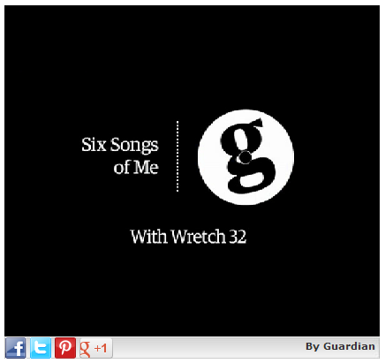 Click to watch Wretch 32 talk about his Six Songs of Me